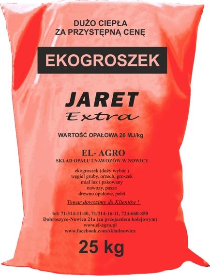 Ekogroszek JARET
